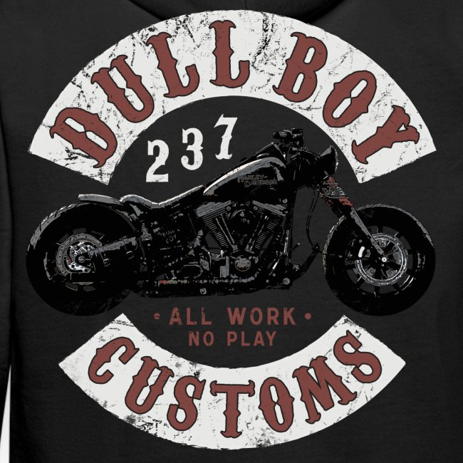DBC 237 worn patch two sides
