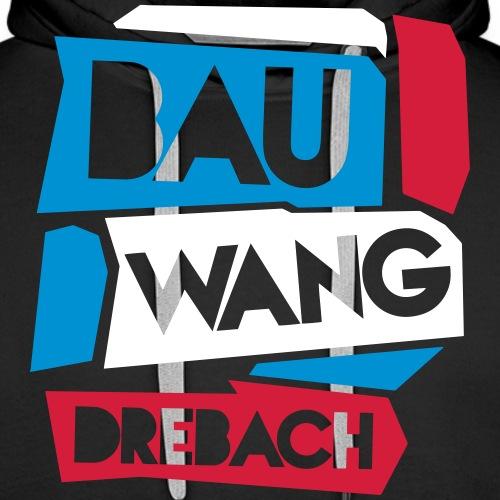 Bauwang-Drebach-colored2 - Männer Premium Hoodie