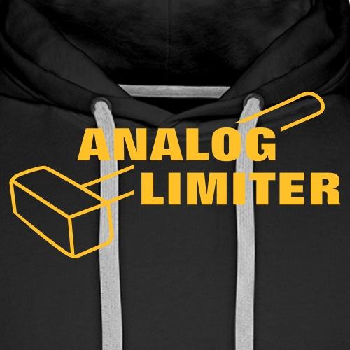 Analog Limiter - Men's Premium Hoodie
