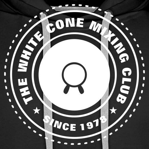 White Cone - Men's Premium Hoodie