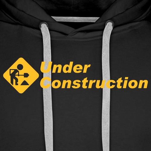 geek underconstruction - Premiumluvtröja herr