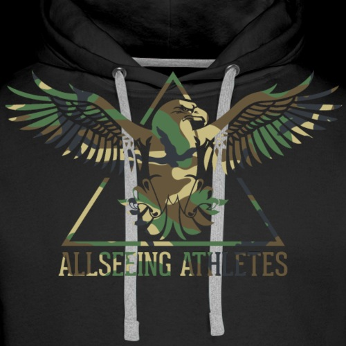 ALLSEEING ATHLETES - Premium hettegenser for menn