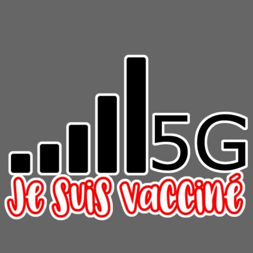 Je suis vacciné, j'ai la 5G - Sweat-shirt à capuche Premium pour hommes