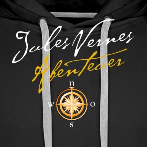 Klangfeder Jules Verne Abenteuer (vorne+hinten) - Männer Premium Hoodie
