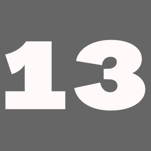 Getal 13 - Mannen Premium hoodie