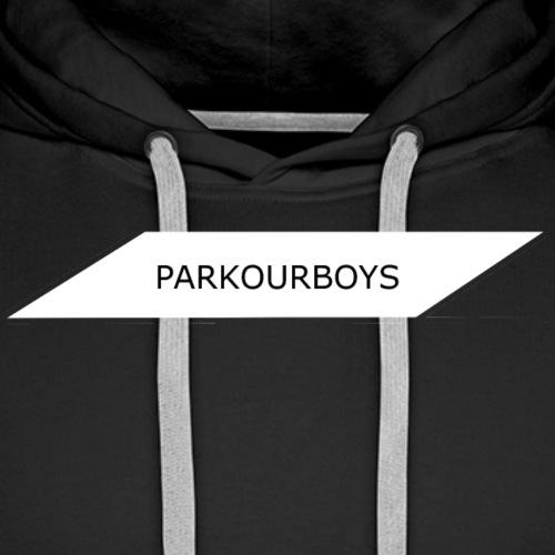 PARKOURBOYS - Premiumluvtröja herr
