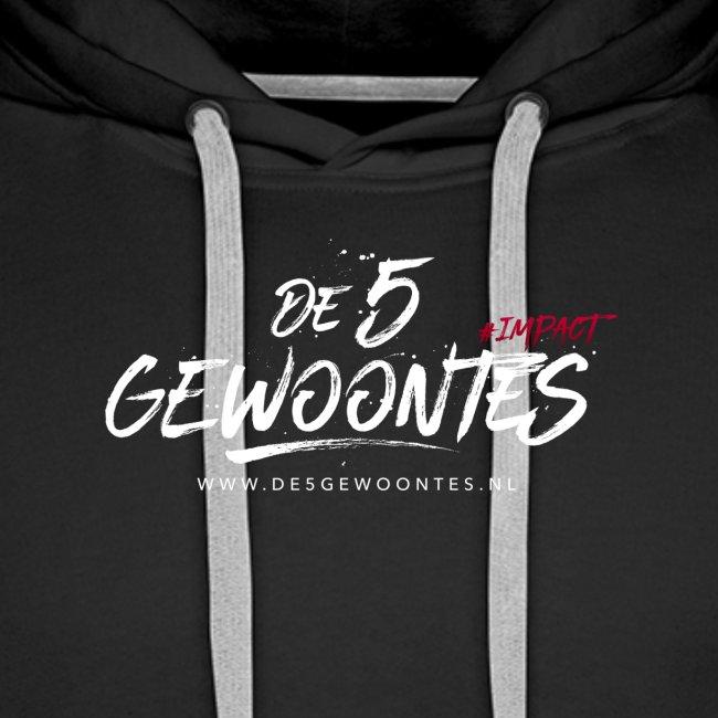 Logo5gewoontes wit transparant