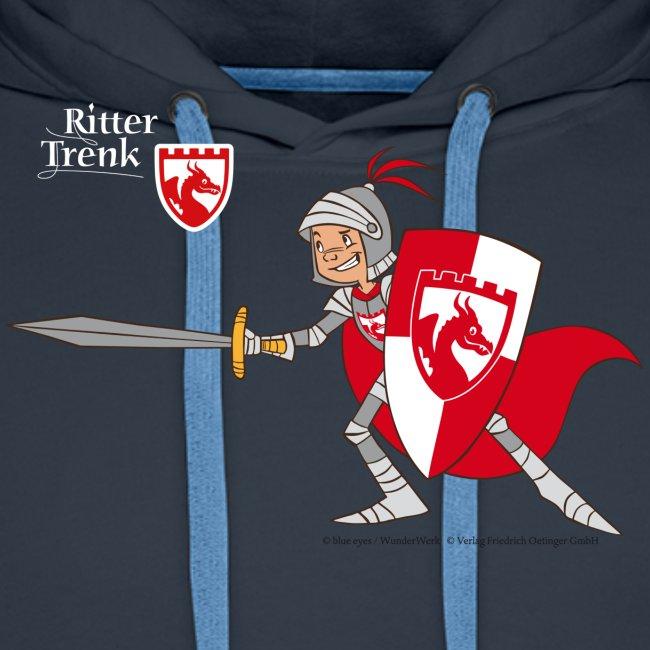 Ritter Trenk in Rüstung