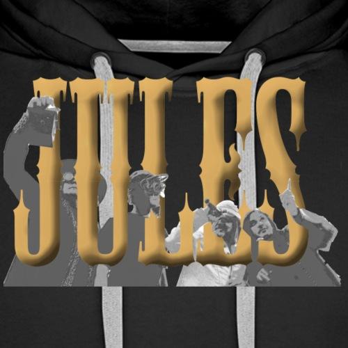 Klangfeder Jules Fanshirt (Druck vorne+hinten) - Männer Premium Hoodie