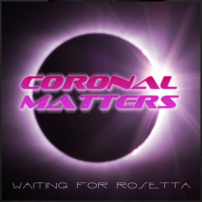 Coronal Matters logo and album art