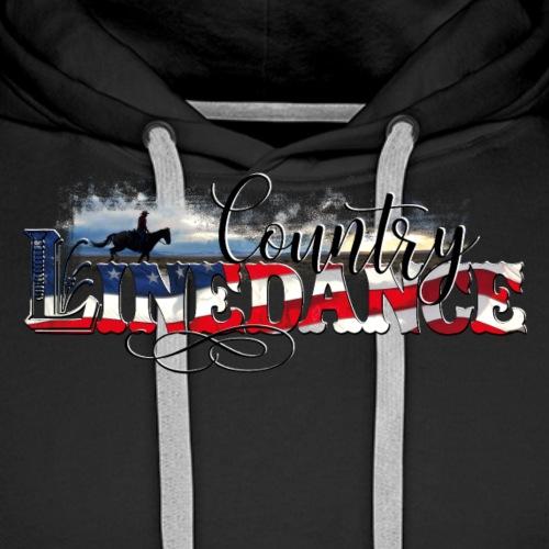 KL_linedance68 T-Shirt - Men's Premium Hoodie