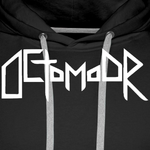 Octomoor white Logo - Männer Premium Hoodie
