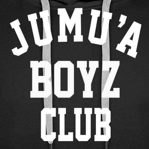 Jumu'a Boyz Club - Sweat-shirt à capuche Premium pour hommes