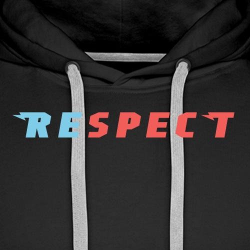 respect - Männer Premium Hoodie