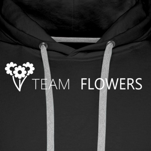 Team Flowers - Premium hettegenser for menn