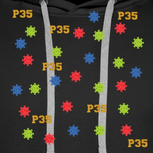 P35 Virus - Männer Premium Hoodie
