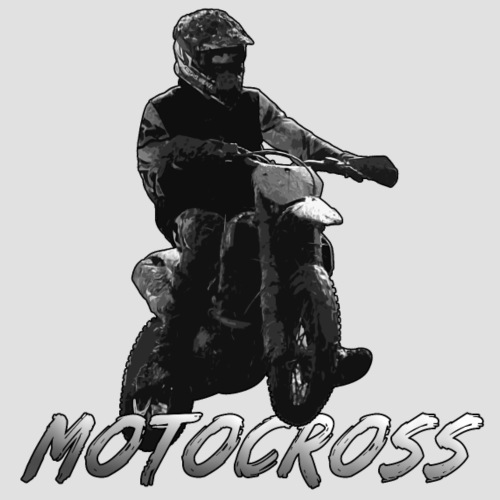 Motocross animation - Premiumluvtröja herr