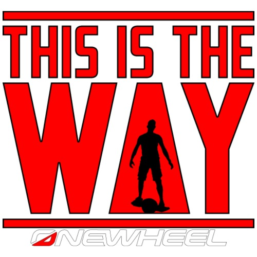 This Is The OneWheel Way - Herre Premium hættetrøje