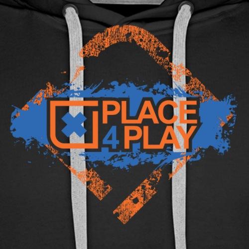 xPlace4Play Classic - Felpa con cappuccio premium da uomo