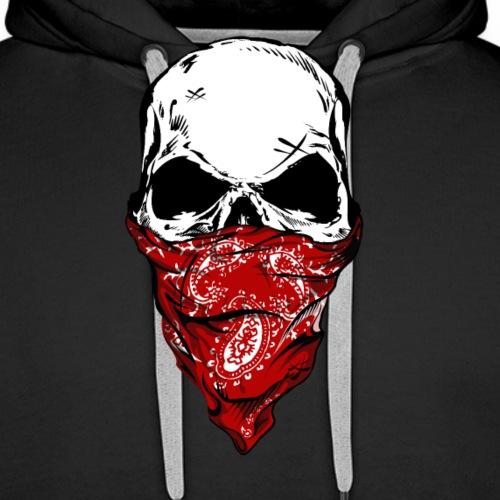 Bandit Skull - Miesten premium-huppari