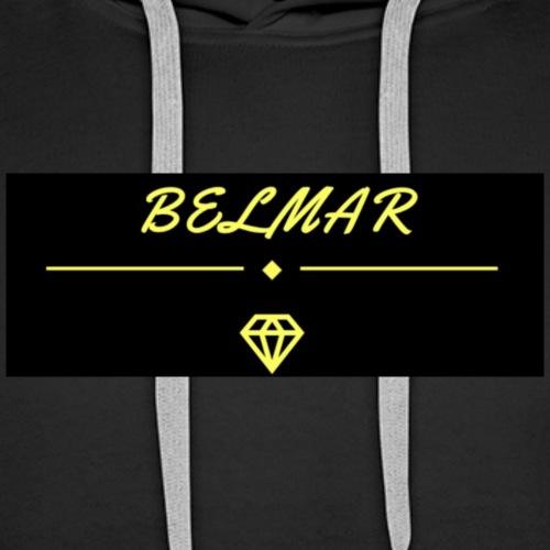 BelMar - Felpa con cappuccio premium da uomo