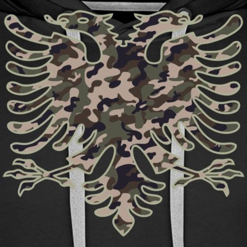 Albania Green Camouflage - Männer Premium Hoodie