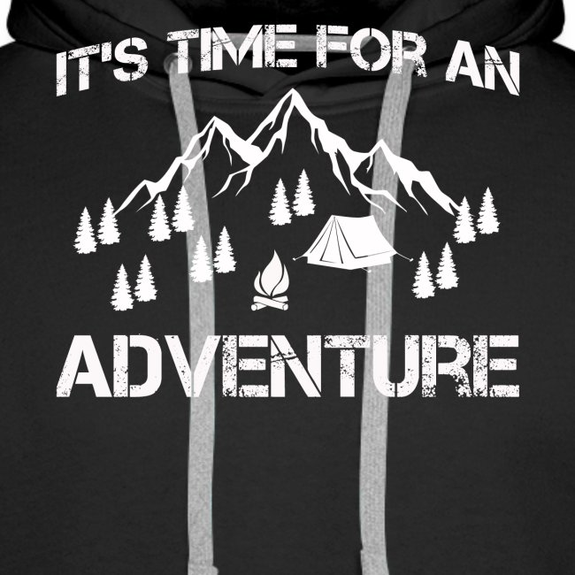 It's time for an adventure