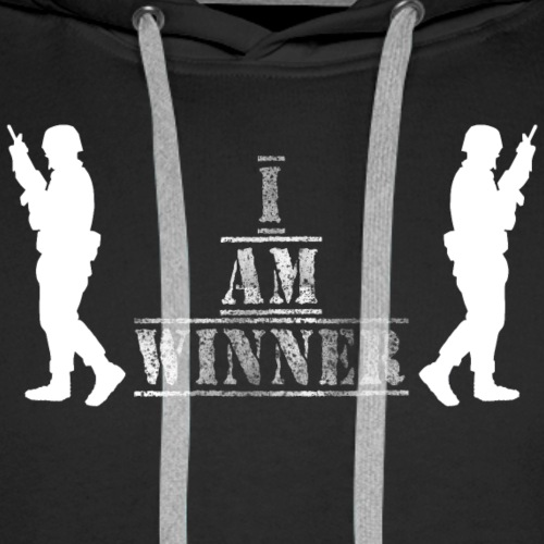 I am Winner - Männer Premium Hoodie