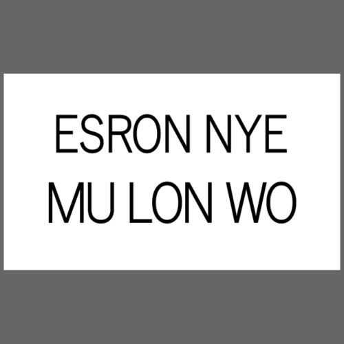 ESRON NYE MU LON WO - Sweat-shirt à capuche Premium pour hommes