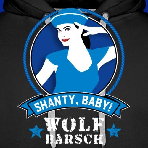 Wolf Barsch Shirts 2018 07 png - Männer Premium Hoodie