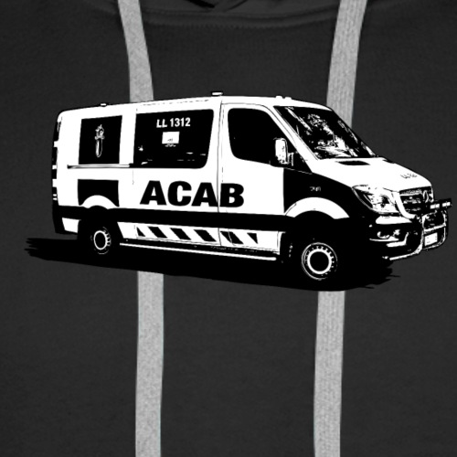 ACAB - Miesten premium-huppari