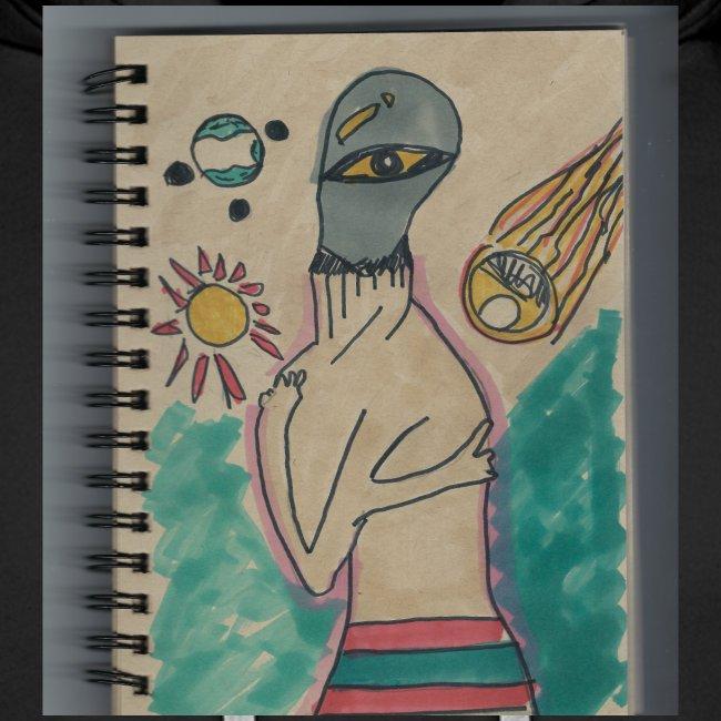 Alien conspirando
