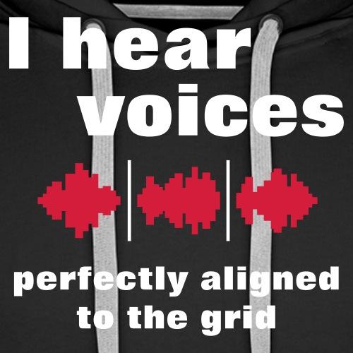 I Hear Voices - Men's Premium Hoodie