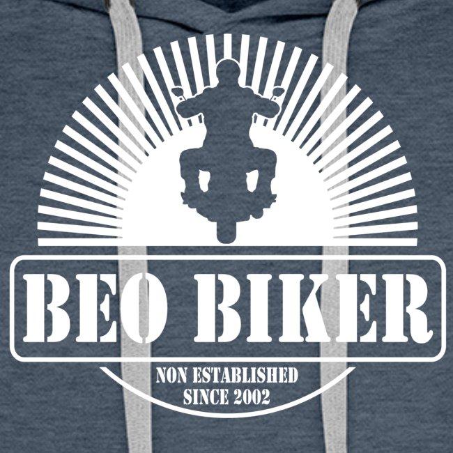 Logo Beo Biker White