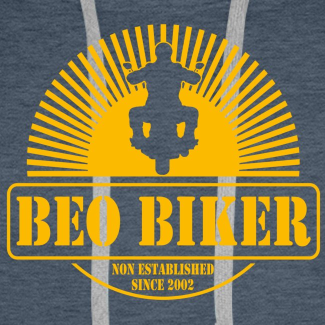 Logo Beo Biker Yellow