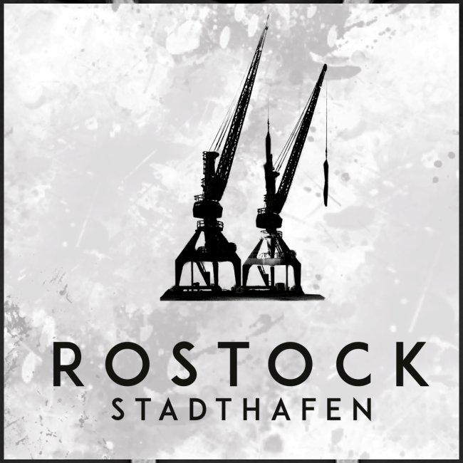 Rostock Stadthafen Kran Quadrat