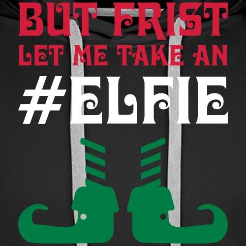Elf elfie - Männer Premium Hoodie