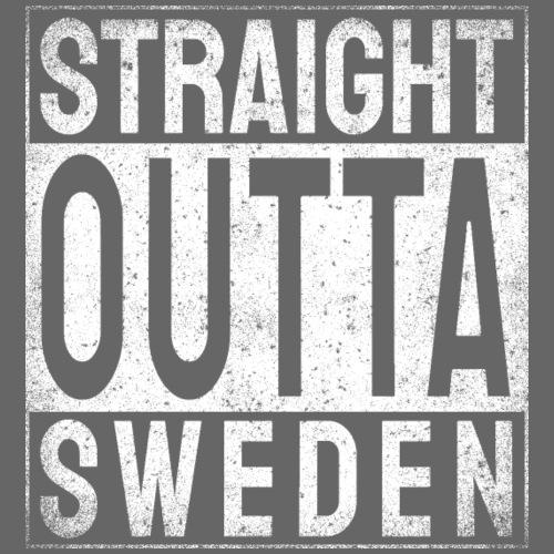 Straight Outta Sweden - Premiumluvtröja herr