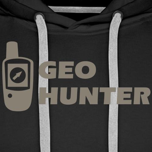 Geocaching GPS Geo Hunter - Männer Premium Hoodie