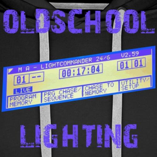 oldschool lighting - MA Lightcommander - Männer Premium Hoodie