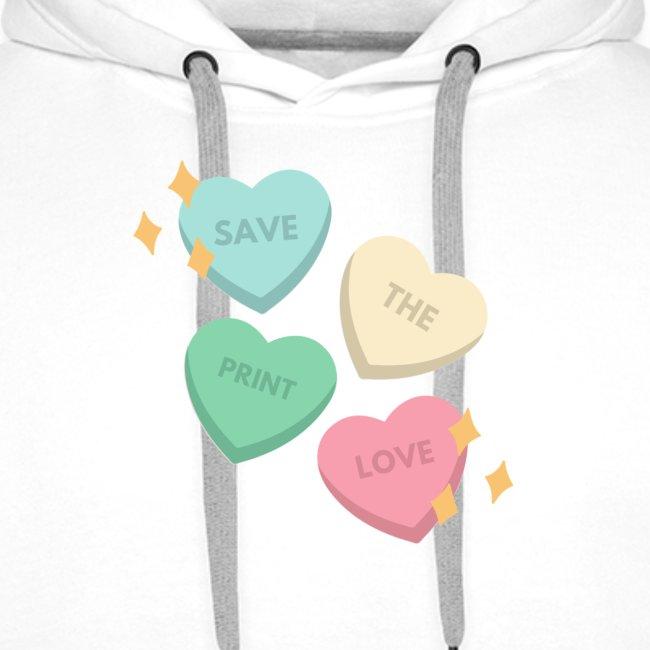 Save Print Love