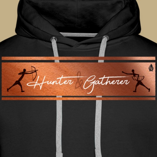 Hunter Gatherer Cave - Männer Premium Hoodie