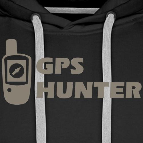 Geocaching GPS Hunter - Männer Premium Hoodie