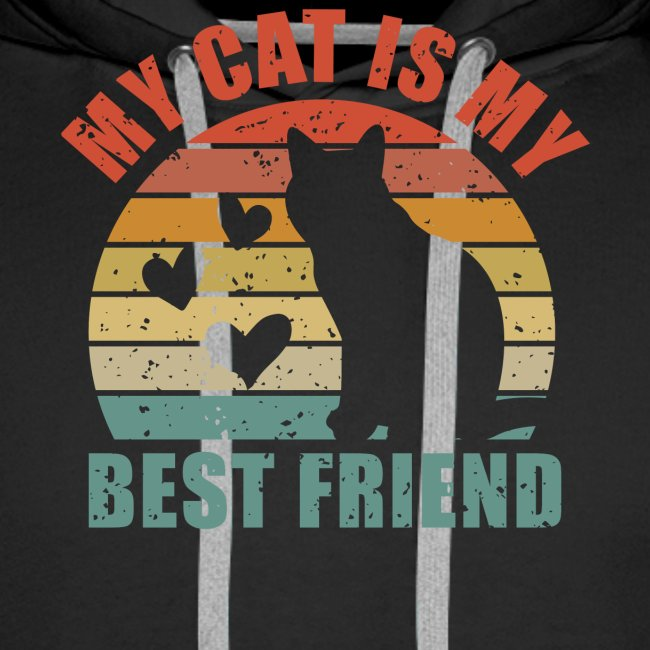 My cat is my best friend