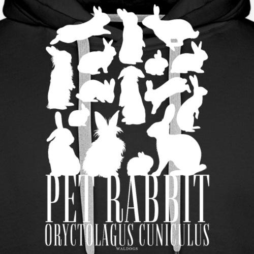 Pet Rabbit - Miesten premium-huppari