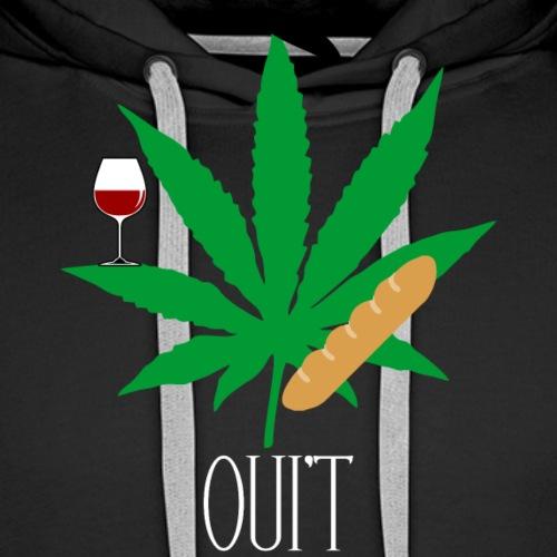OUI'T - Mannen Premium hoodie