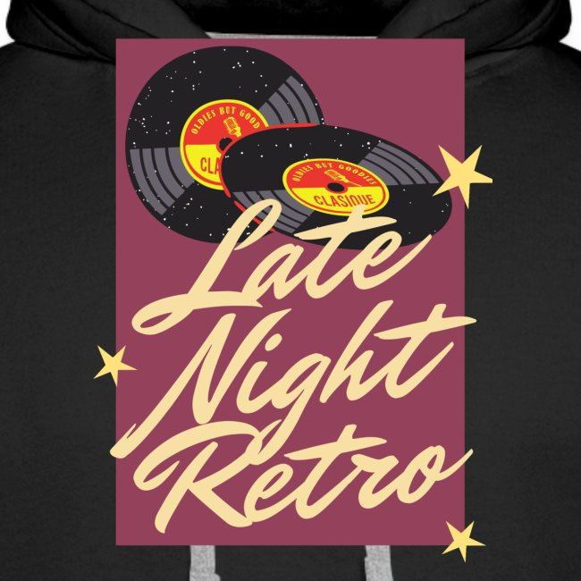 Late Night Retro, Schallplatte, Retro Look