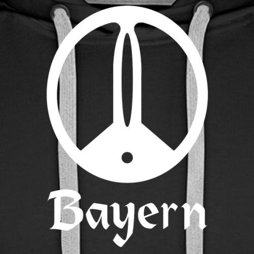 Sondeln Bayern Weiß - Männer Premium Hoodie