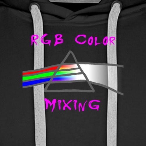 RGB Color Mixing - - Männer Premium Hoodie