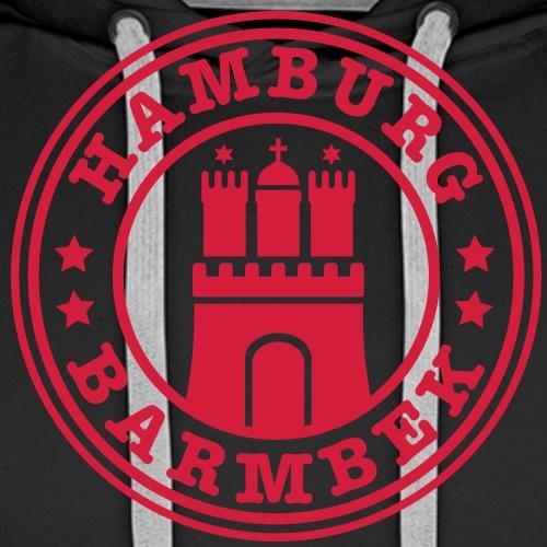Hamburg Stadtteil Barmbek 1c - Männer Premium Hoodie